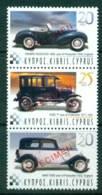 Cyprus 2003 Vintage Cars Strip SPECIMEN MUH Lot23547 - Cyprus (Republic)