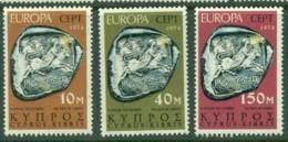 Cyprus 1974 Europa MUH Lot15322 - Cyprus (Republic)