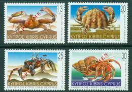 Cyprus 2001 Crabs SPECIMEN MUH Lot23537 - Cyprus (Republic)