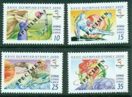 Cyprus 2000 Sydney Olympics SPECIMEN MUH Lot23548 - Cyprus (Republic)