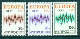 Cyprus 1972 Europa, Sparkles MUH Lot65552 - Cyprus (Republic)