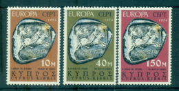 Cyprus 1974 Europa, Sculpture MUH Lot65598 - Cyprus (Republic)