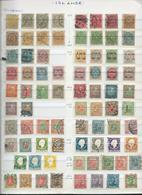 ISLANDE. Belle Collection Période 1873 à 1964 Sur 6 Pages. Cote Totale 1700 €. - Timbres