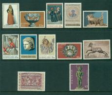 Cyprus 1971 Defins (12/14) MUH Lot16737 - Cyprus (Republic)