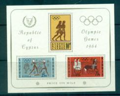 Cyprus 1964 Tokyo Olympics MS MUH Lot57537 - Cyprus (Republic)