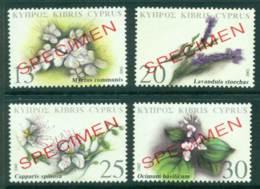 Cyprus 2002 Medicinal Plants SPECIMEN MUH Lot23552 - Cyprus (Republic)