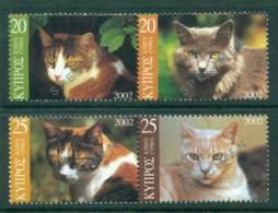 Cyprus 2002 Cats Prs. SPECIMEN MUH Lot23565 - Cyprus (Republic)