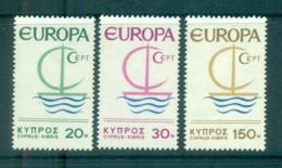 Cyprus 1966 Europa, Sailboat MUH Lot65425 - Cyprus (Republic)