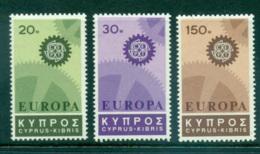 Cyprus 1967 Europa, Cogwheels MUH Lot65446 - Cyprus (Republic)