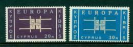 Cyprus 1963 Europa 20m, 30m MUH Lot16701 - Cyprus (Republic)