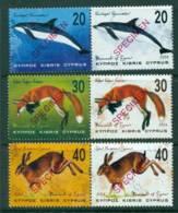 Cyprus 2004 Wildlife Mammals 3x Pr SPECIMEN MUH Lot23534 - Cyprus (Republic)