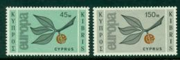 Cyprus 1965 Europa 45 & 150m MUH Lot16712 - Cyprus (Republic)