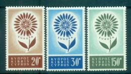 Cyprus 1964 Europa, Daisy Of Petals MUH Lot65388 - Cyprus (Republic)