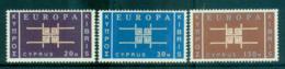 Cyprus 1963 Europa, Interlock Links MUH Lot65369 - Cyprus (Republic)