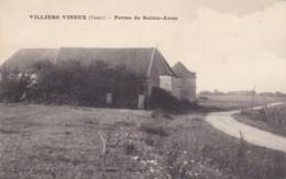 YONNE VILLIERS VINEUX FERME DE SAINTE ANNE - Autres Communes