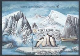 Czech Republic 2009 Preserve The Polar Regions And Glaciers MS MUH - Czech Republic