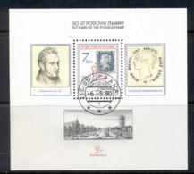 Czechoslovakia 1990 Stampworld London MS CTO - Czechoslovakia