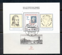 Czechoslovakia 1990 Stampworld London MS CTO - Tsjechoslowakije