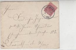 Brief Mit KOS CRONBERG 13.7.95 Nach Frankfurt - Deutschland