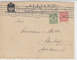Brief Der ALLIANZ Mit 316A, 318 Aus HAMBURG 30.10.29 - Deutschland