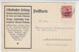 Karte Der OFFENBACHER ZEITUNG Aus OFFENBACH 15.7.19 - Deutschland