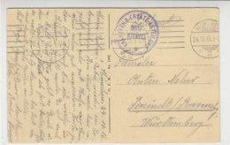 Feldpost Von Der Kraftfahr-Ersatz-Abteilung Aus MÜNCHEN 24.10.15 - Deutschland