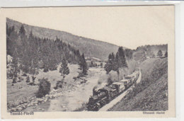 Dampfzug In Tusnad-Fürdö - 1918 - Treinen