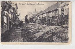 Artillerie Durchreitet Schaulen (Šiauliai) - 1917 - Lettland