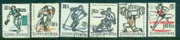 Czechoslovakia 1963 Sports FU Lot70132 - Unused Stamps