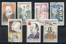 Czechoslovakia 1968 Caricatures FU - Unused Stamps