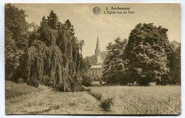 CPA - Carte Postale - Belgique - Archenne - L'Eglise Vue Du Parc - 1926 ( DD7253) - Graven
