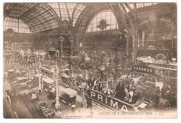 SALON DE L'AUTOMOBILE 1908 (CARTE PAS COURANTE) - Voitures De Tourisme