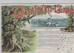 Lüdinghausen - Alte Karte ..   (ka_9903  ) Siehe Scan - Allemagne