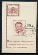 Czechoslovakia 1948 Klement Gottwald MS CTO - Czechoslovakia