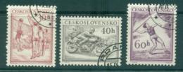 Czechoslovakia 1953 Sports CTO Lot38218 - Czechoslovakia