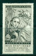Czechoslovakia 1958 Max Svabinski MUH Lot38306 - Czechoslovakia