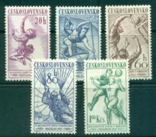 Czechoslovakia 1958 Sports Championships MUH Lot38295 - Czechoslovakia