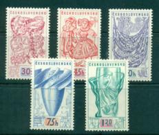 Czechoslovakia 1958 Brussels Expo MUH Lot38298 - Czechoslovakia