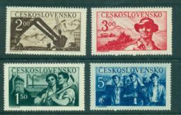 Czechoslovakia 1950 Factory Workers MUH Lot38141 - Czechoslovakia