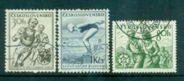 Czechoslovakia 1954 Sports FU Lot70010 - Czechoslovakia