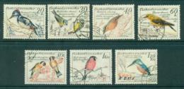 Czechoslovakia 1959 Birds CTO Lot41303 - Czechoslovakia
