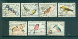 Czechoslovakia 1959 Birds FU Lot70087 - Czechoslovakia