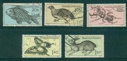 Czechoslovakia 1955 Wildlife FU/CTO Lot41246 - Czechoslovakia