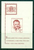 Czechoslovakia 1948-49 Pres. Klement Gottwald MS MUH Lot38111 - Czechoslovakia