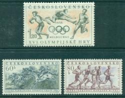 Czechoslovakia 1956 Melbourne Olympics II MUH Lot38269 - Czechoslovakia