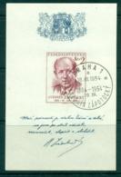 Czechoslovakia 1954 Pres. Antonin Zapotoky MS CTO Lot38241 - Czechoslovakia