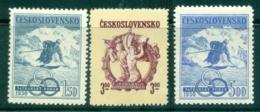 Czechoslovakia 1950 Ski Championships MUH Lot38134 - Czechoslovakia
