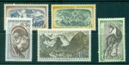 Czechoslovakia 1957 Tatra Mountains National Park MUH Lot38286 - Czechoslovakia