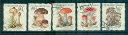 Czechoslovakia 1958 Mushroons, Funghi FU Lot70071 - Czechoslovakia