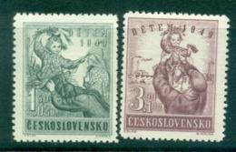 Czechoslovakia 1949 Child Welfare MUH Lot38128 - Czechoslovakia